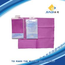 Paño de limpieza de fibra óptica de microfibra PVC Bolsa