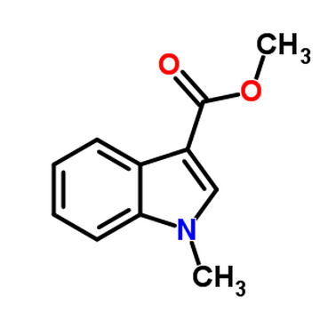 98% MIN Methyl 1-methylindool-3-carboxylaat 108438-43-3