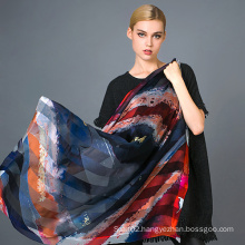 Silk Digital Print Scarf