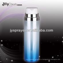 Yuyao самая популярная двухслойная безвоздушная косметическая пластиковая бутылка
