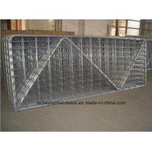 Rejilla de soldadura galvanizada en caliente para paneles de ganado
