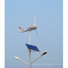 Turbina de vento, tipo steamline, leve, apropriado para a luz de rua
