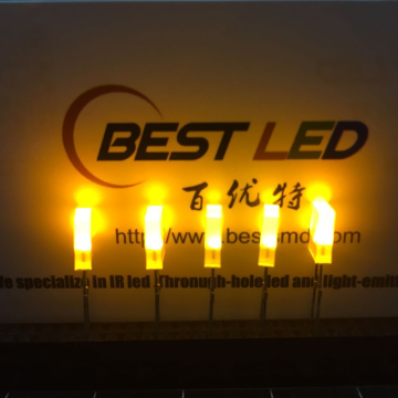 2×5×7mm Rectangle LED Yellow Light Emitting Diode