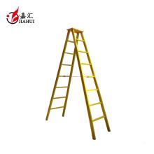 Fiberglas FRP Isolierung gelb 2 Stufenleiter