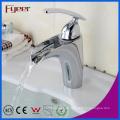 Fyeer Fashion Badezimmer Entdeckter Großer Wasserstrom Einhand Chrom Wasserhahn Wasserhahn Hot & Cold Mischbatterie