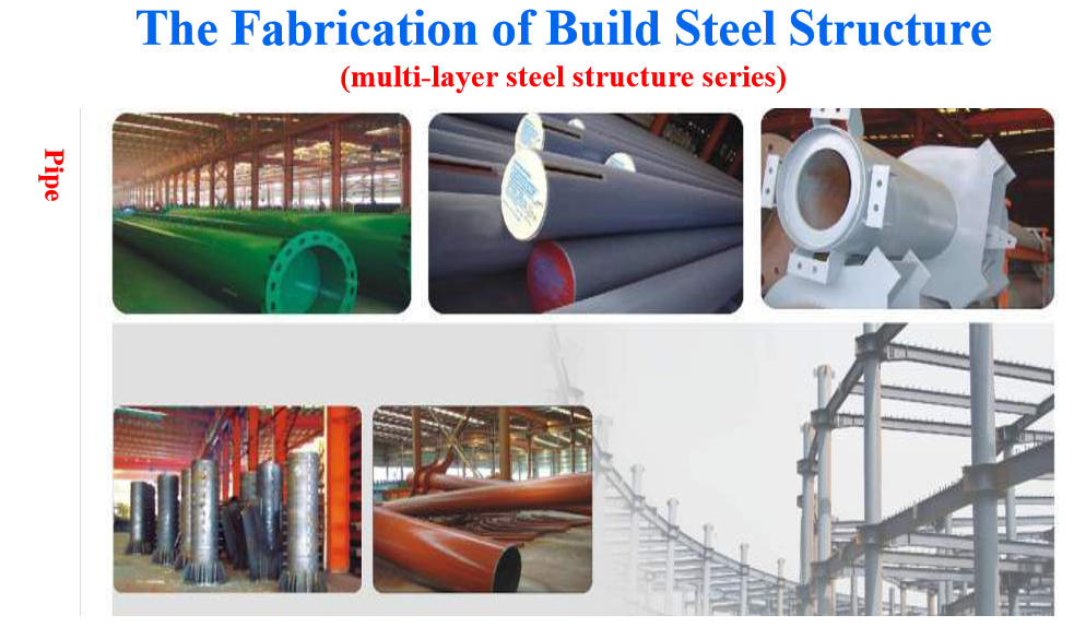 the fabrication of building steel structure one