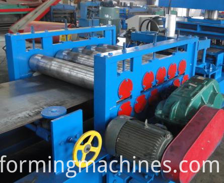 feeding--Freeway Steel Guardrail Forming Machine