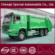 Chasis HOWO chasis 13 metros cúbicos de basura camión compactador de basura