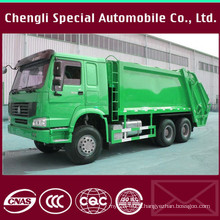HOWO Chassis 13 Cubic Meters Garbage Refuse Compactor Truck