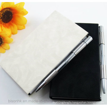 Metal Note Pad Holder, Note Pad Holder with Pen, Memo Pad Holder