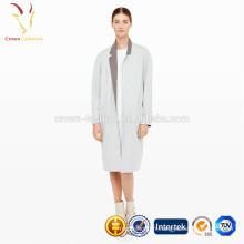 Manteau d'hiver de manteaux longs de laine de femmes importés de Chine