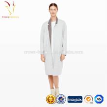 Casaco de inverno longo casaco de lã de mulheres importado da China