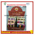 Cloth Hard Cover Notebook in Display Box Packing