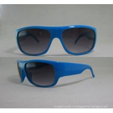 Солнцезащитные очки с логотипом клиента на храме P25043