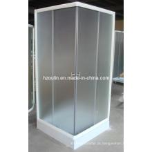 Casa de banho com acabamento branco (E-07Branco)