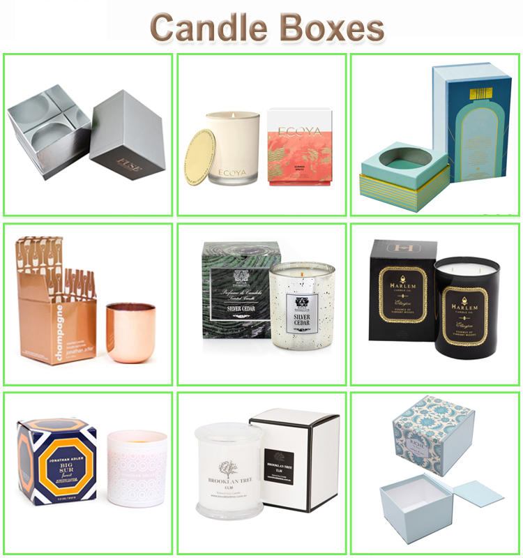 Candle boxes style