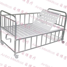 medical baby Child big boy metal manual child bed