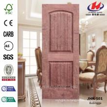 JHK-S01 Глубина прорези 12MM Модель HDF Панели дверцы шпона, широко используемые в Саудовской Аравии Проектная дверь Materail Sheet