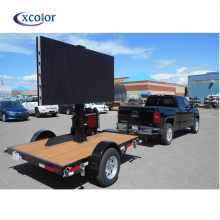 P4 Outdoor Digital Car Advertising Led Display