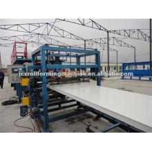 Linha de produção de painéis Sandwich EPS, Máquina de Painel Isolado Estrutural