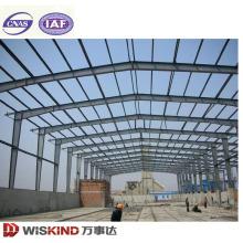 Großes breites spanisches helles Stahlstruktur-Bau-Rahmen-Stahllager