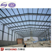 Estructura de acero de gran ancho y ancho Estructura de acero Steel Warehouse