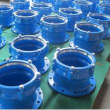 Adaptador de brida de accesorios de tubería de PE de hierro fundido dúctil
