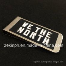 Regalos personalizados de promoción Metal Money Clip Factory