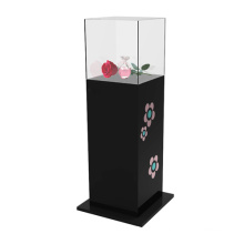 Stylish Acrylic Display Case for Flowers, POS Perspex Display