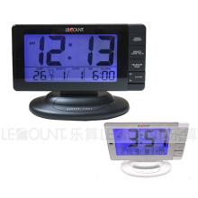 Calendario de Digtal con la pantalla y la alarma estupendas grandes del LCD (LC970)
