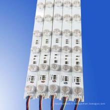 La lumière personnalisable de bord d'éclairage de la publicité RVB a mené la lumière de module