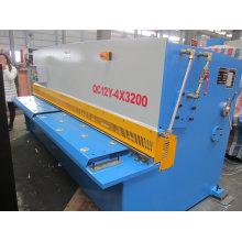 Máquina de cisalhamento e corte de viga de balanço hidráulico QC12y