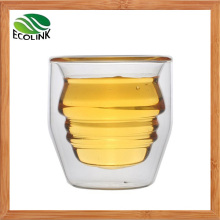 Hot Sale Crystal Double Wall Glass Cup