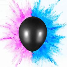 Benutzerdefinierte gedruckte Baby Geschlecht zeigen Pulver Ballon Pop