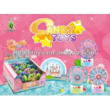 wind up mini fan candy toys