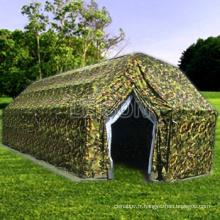 Armée tente militaire tactique avec fil de nylon enduit/par renforcée imperméable PVC