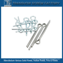 Stainless Steel Galvanized Spring Steel Split Cotter Pins