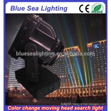 GuangZhou 4/5/7/10KW explosion proof searchlight color changeable moving head