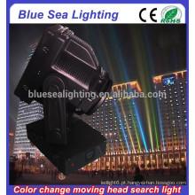 GuangZhou 4/5/7 / 10KW prova de explosão searchlight cor mudável cabeça móvel