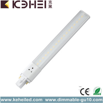 8W G23 LED PL Tube Nature Blanc AC220V