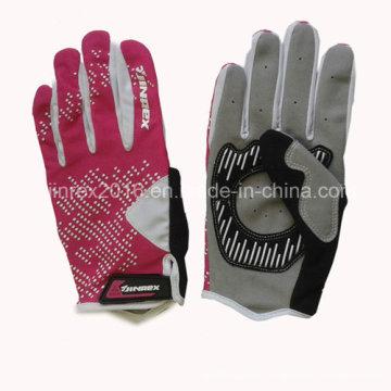 Cycling Full Finger Sports Bike Bicycle Sports Equipment Glove Gel Padding Sports Glove