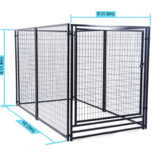 High quality hot-dip galvanized dog cage/Chain link fence outdoor hot-dip galvanized dog cage