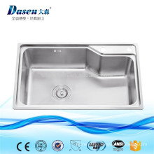 Stainless steel laundry single washing sink Foshan factory