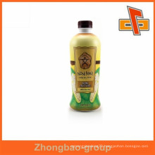 bottles package heat shrink wrap for milk tea by Guangzhou manufacturer