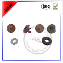 high quality 17mm magnet hidden snap buttons for sale