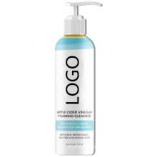 Custom Apple Cider Vinegar Exfoliating Face Wash Foaming Facial Cleanser