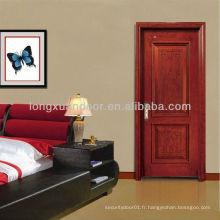 Concepts simples Porte de bois moderne / Porte de l'appartement intérieur / Alibaba