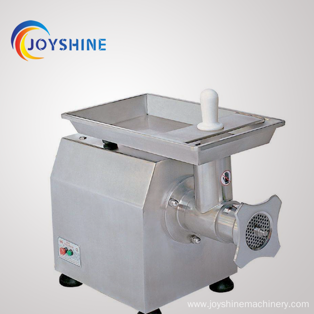commercial electric stainless steel meat mincer machine