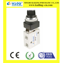 3 way mechanical valve, stop type machinery valve