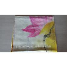 Bufanda con clase de alta calidad de la cachemira de la pintura de la mano